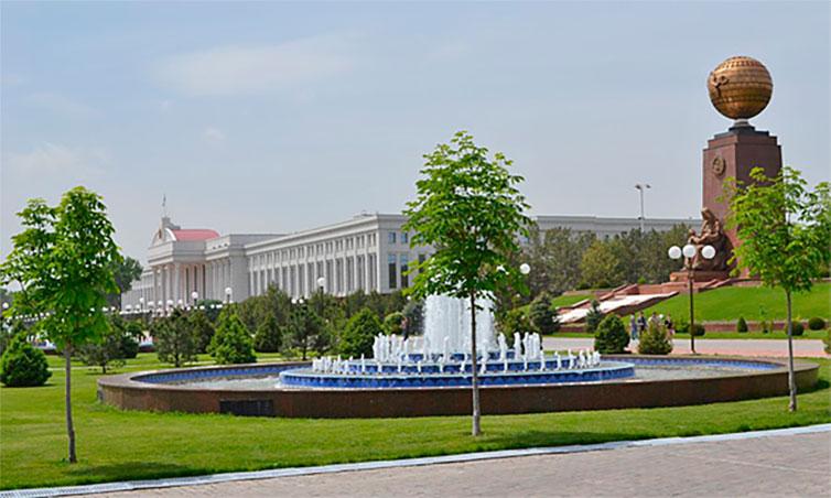 Ташкент — мегаполис Азии.