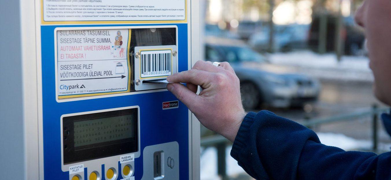 Правила парковки в Эстонии