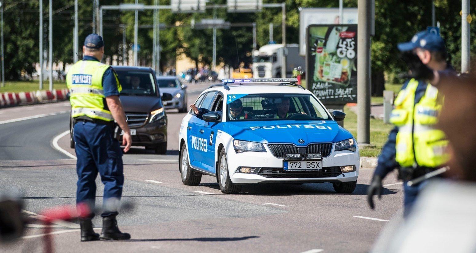 Полицейские в Эстонии