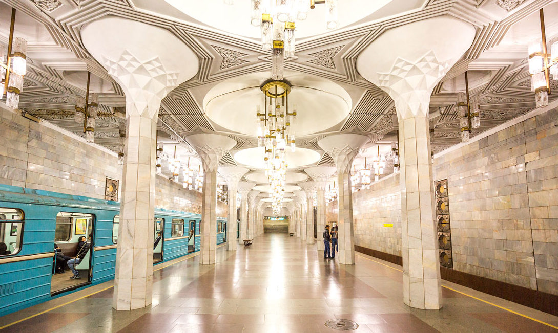 Ташкент, метро, Станция Мустакиллик майдони