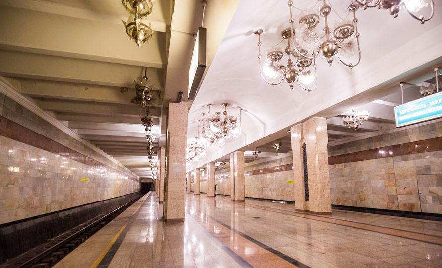 Ташкент, метро, Станция Абдулла Кодирий.