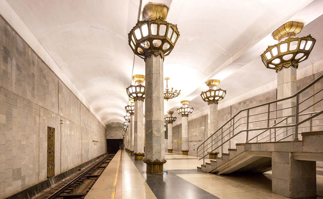 Метро, Ташкент, Станция Юнус Раджаби.
