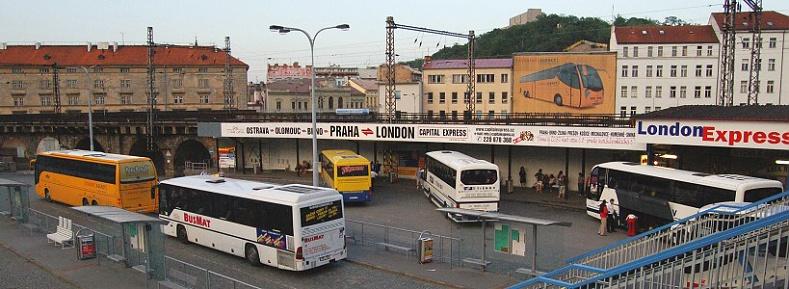 Прага. Автовокзал.