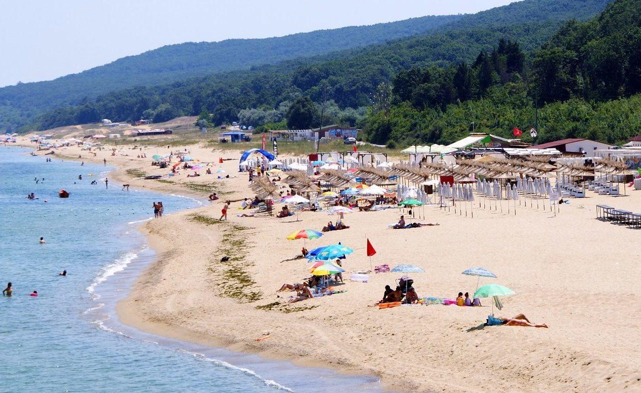 Пляж в Шкорпиловцы