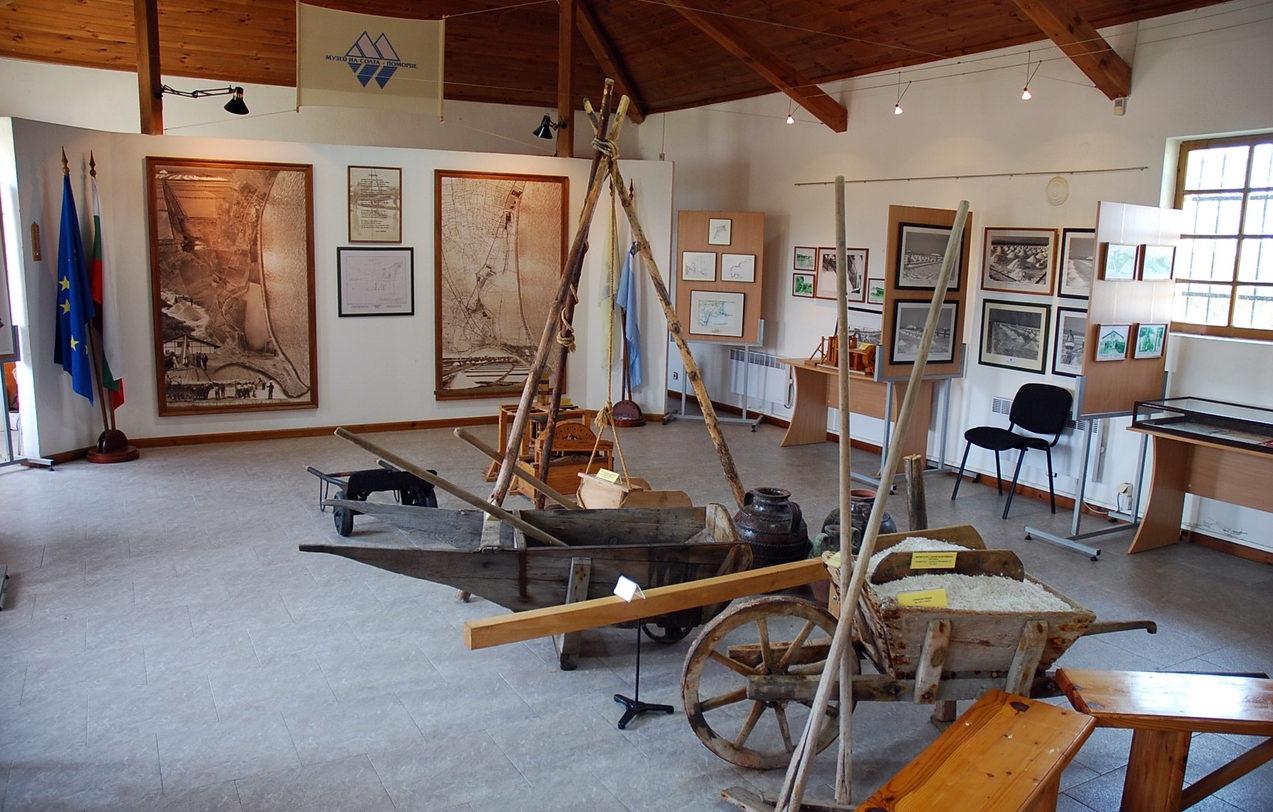 Музей соли в Поморие