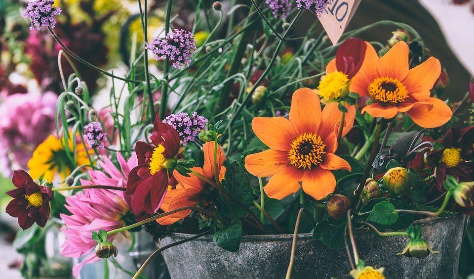 Букеты цветов.