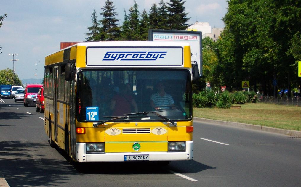Автобус в Бургасе.
