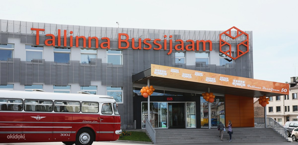 Автовокзал Таллин.