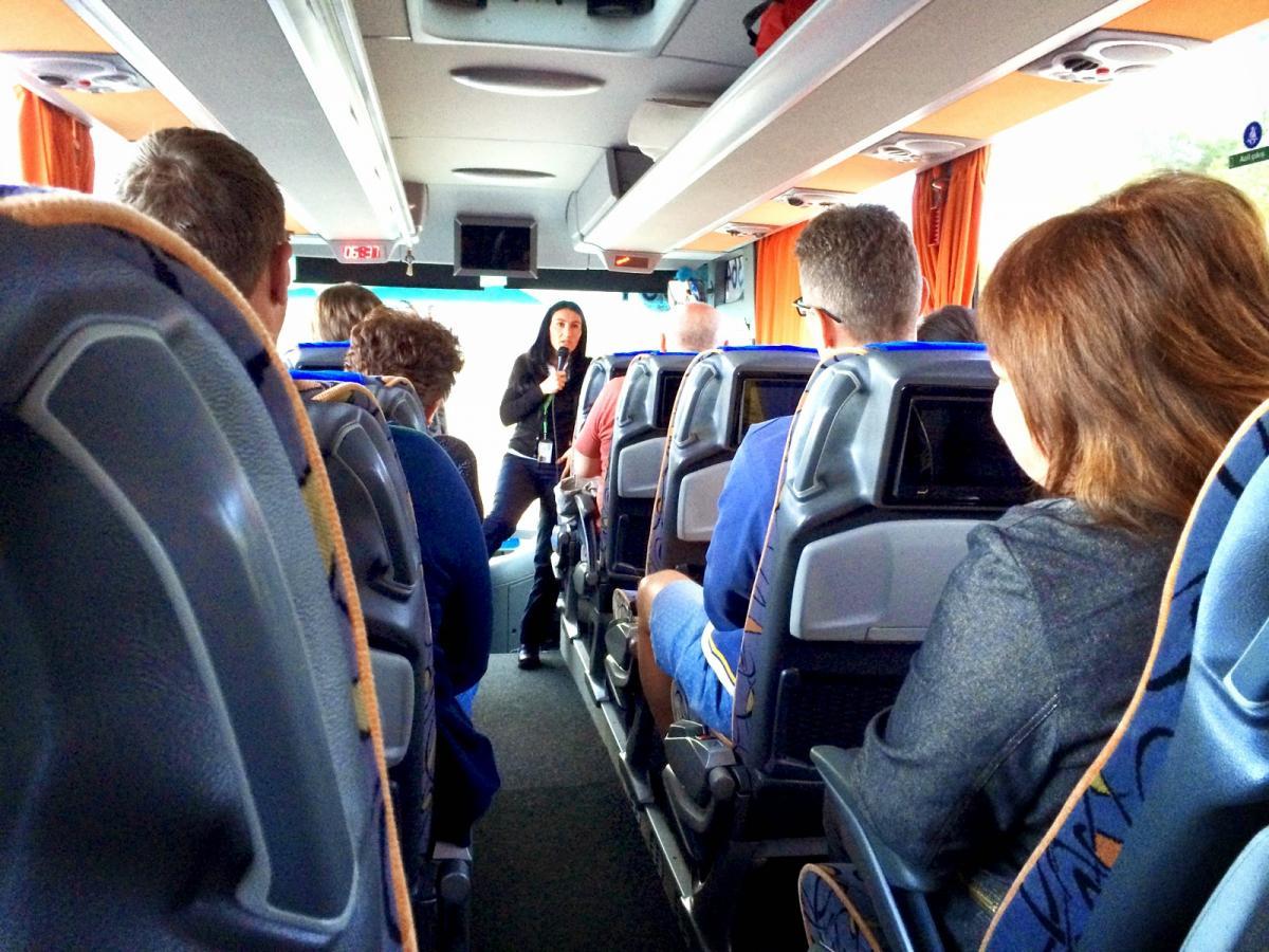 Экскурсия на автобусе.