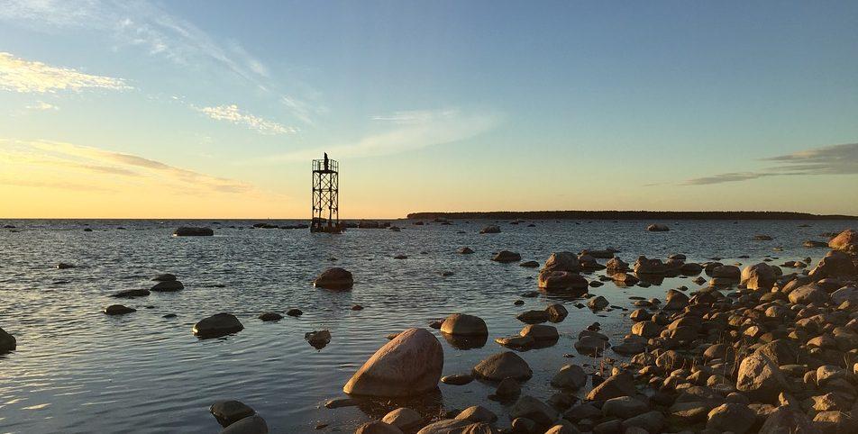 стония. Балтийское море