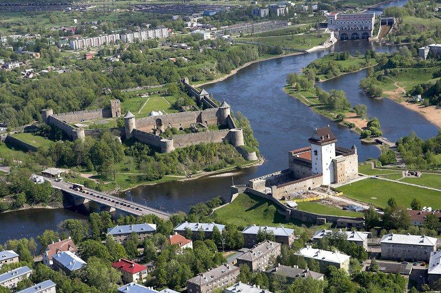 Нарва и Ивангород