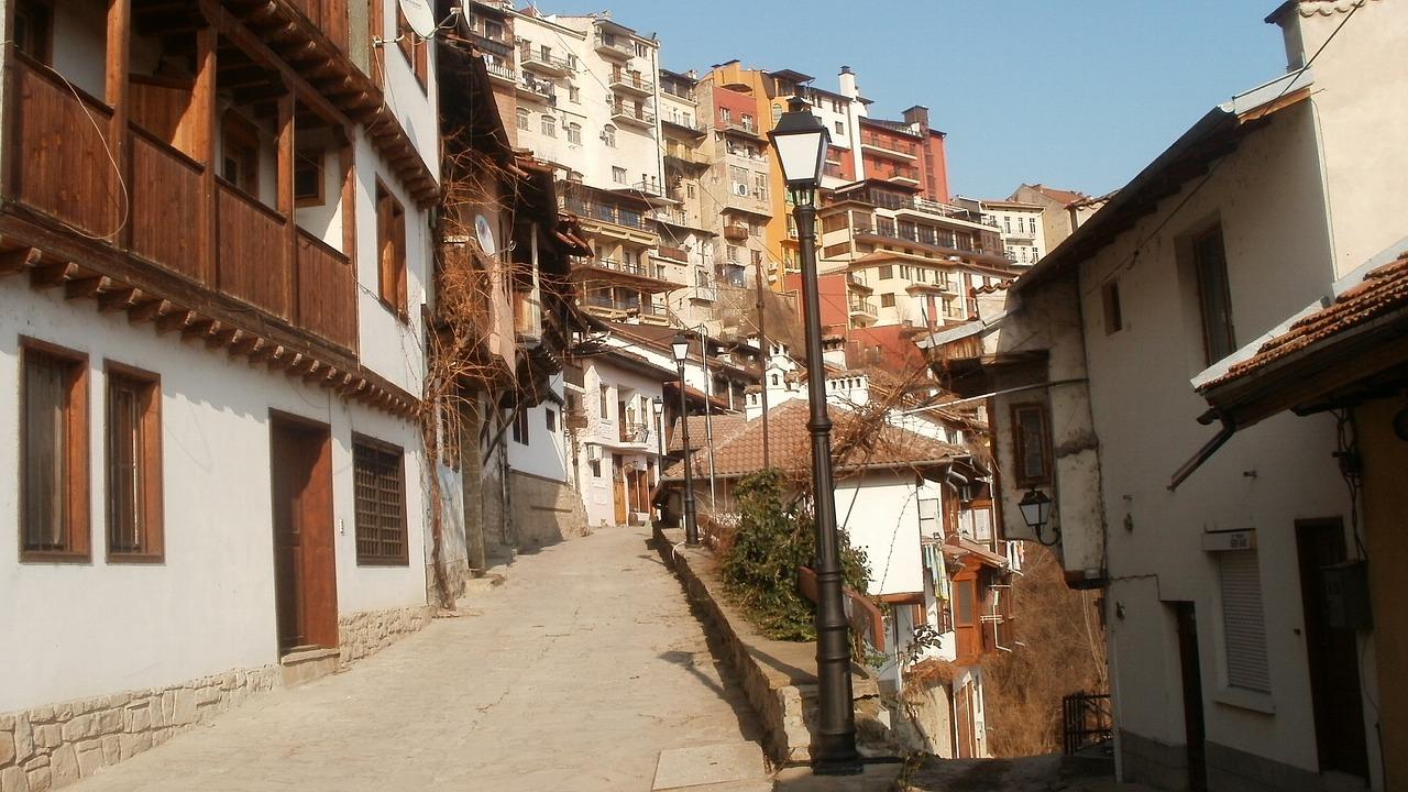 Улица в Старом городе.