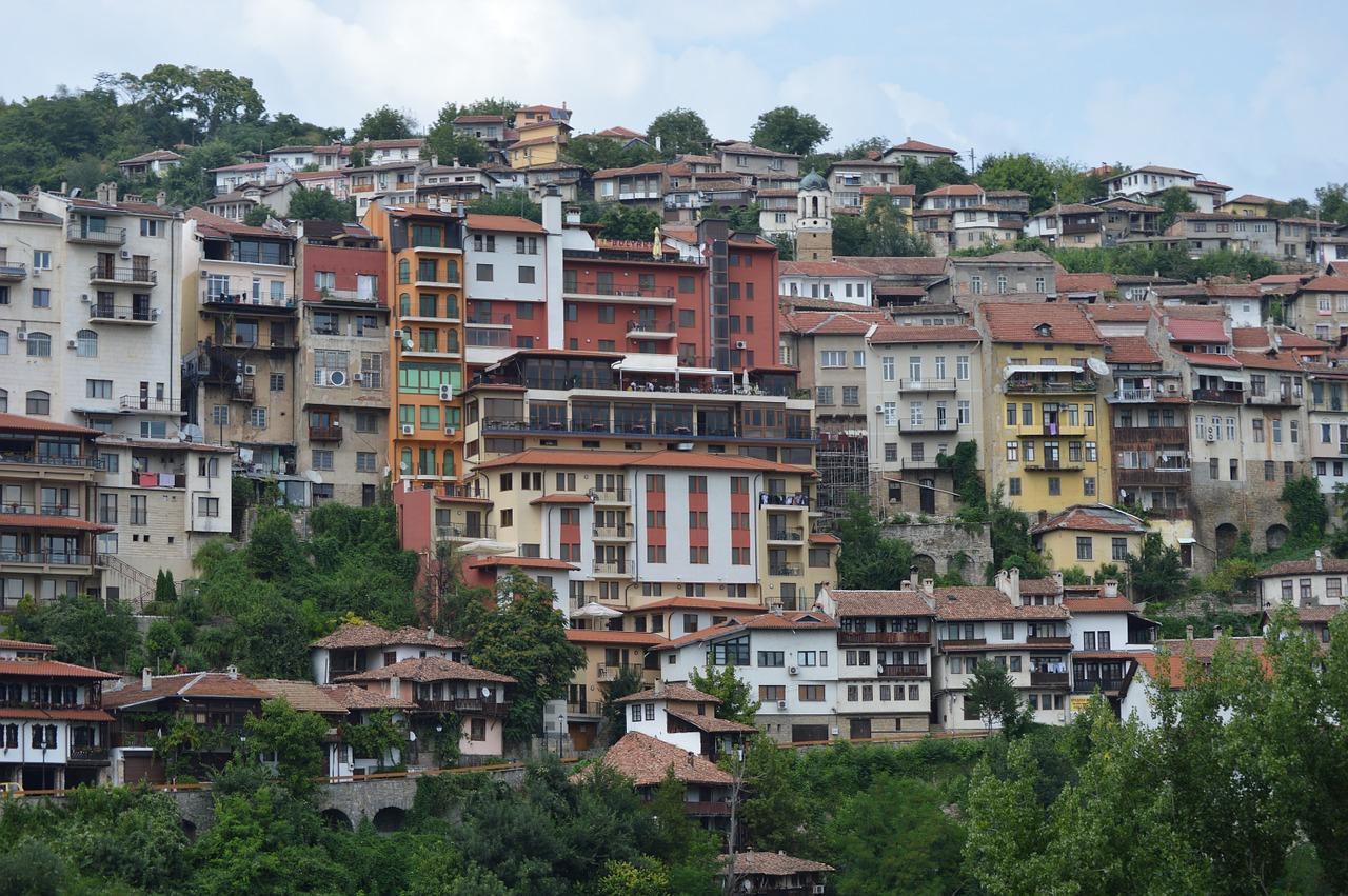 Город Велико-Тырново. Болгария.