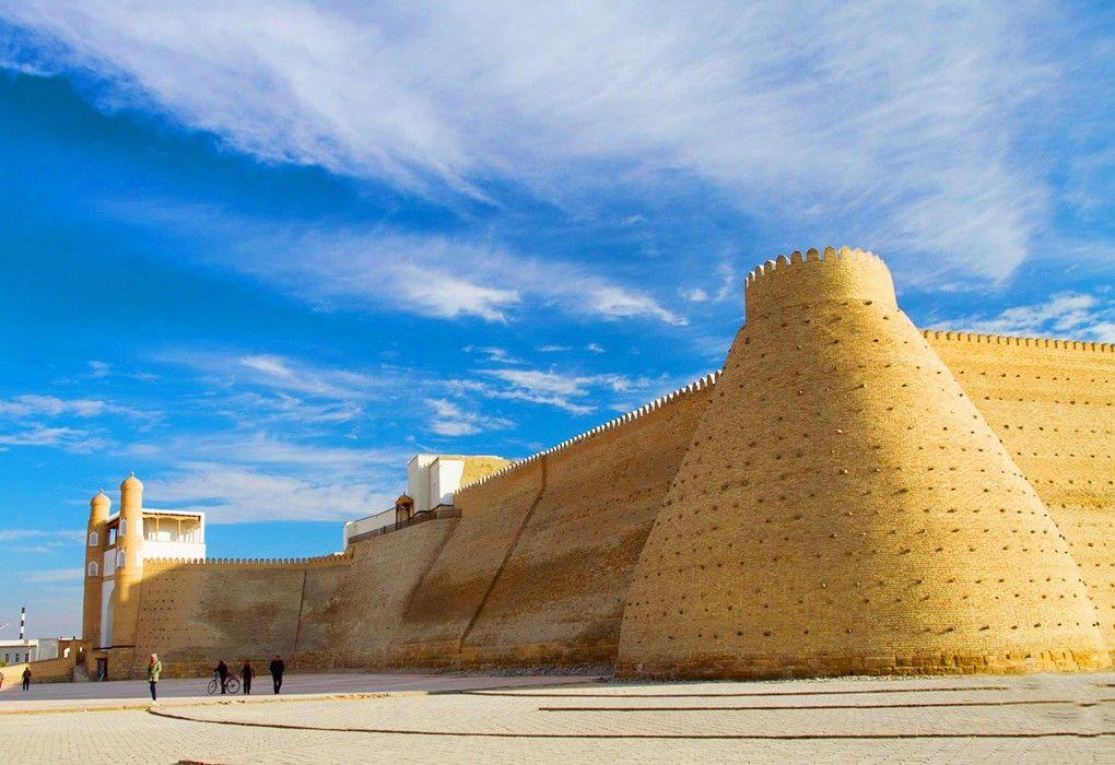 Бухара - крепость Арк