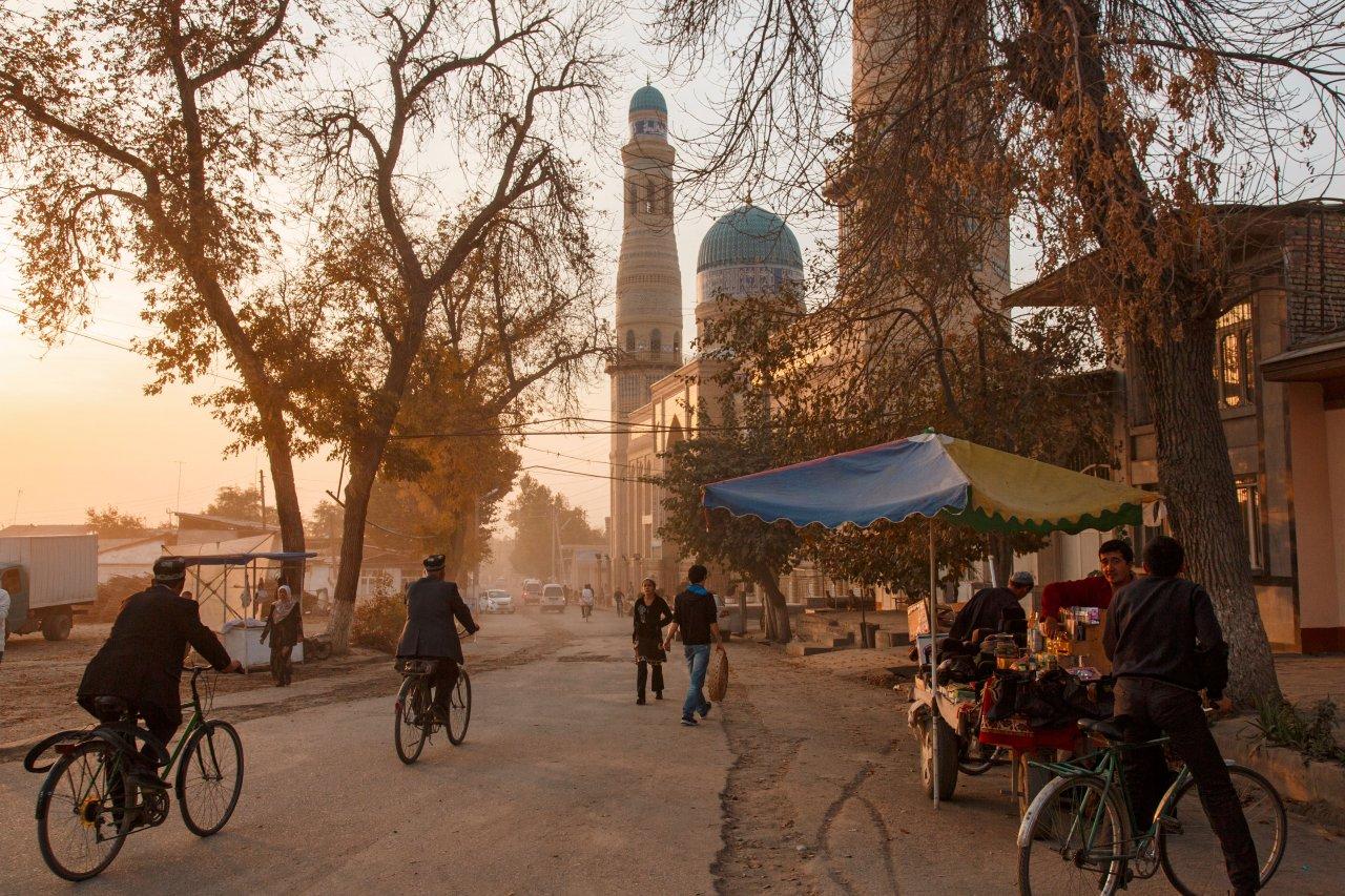 Старая улочка в Андижане
