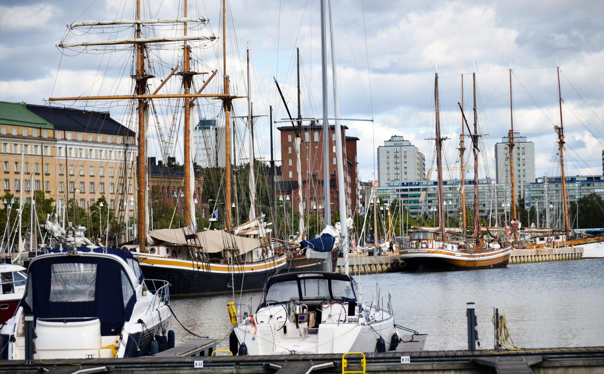 Северная гавань, Хельсинки.