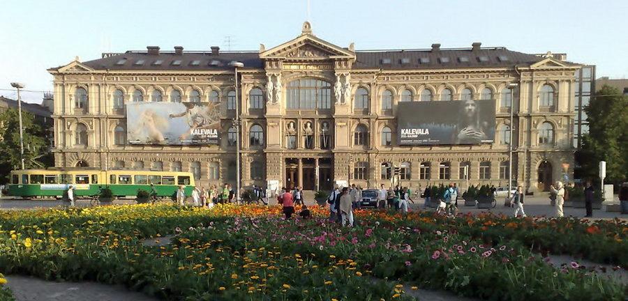 Центральный вход в музей Атенеум