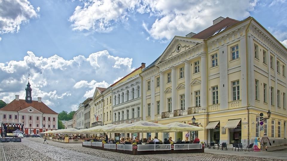 Шесть лучших отелей в городе Тарту.