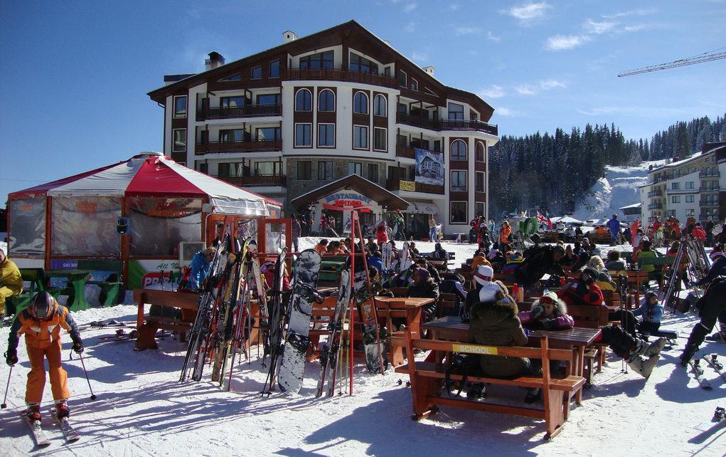 Пампорово - горнолыжный курорт.
