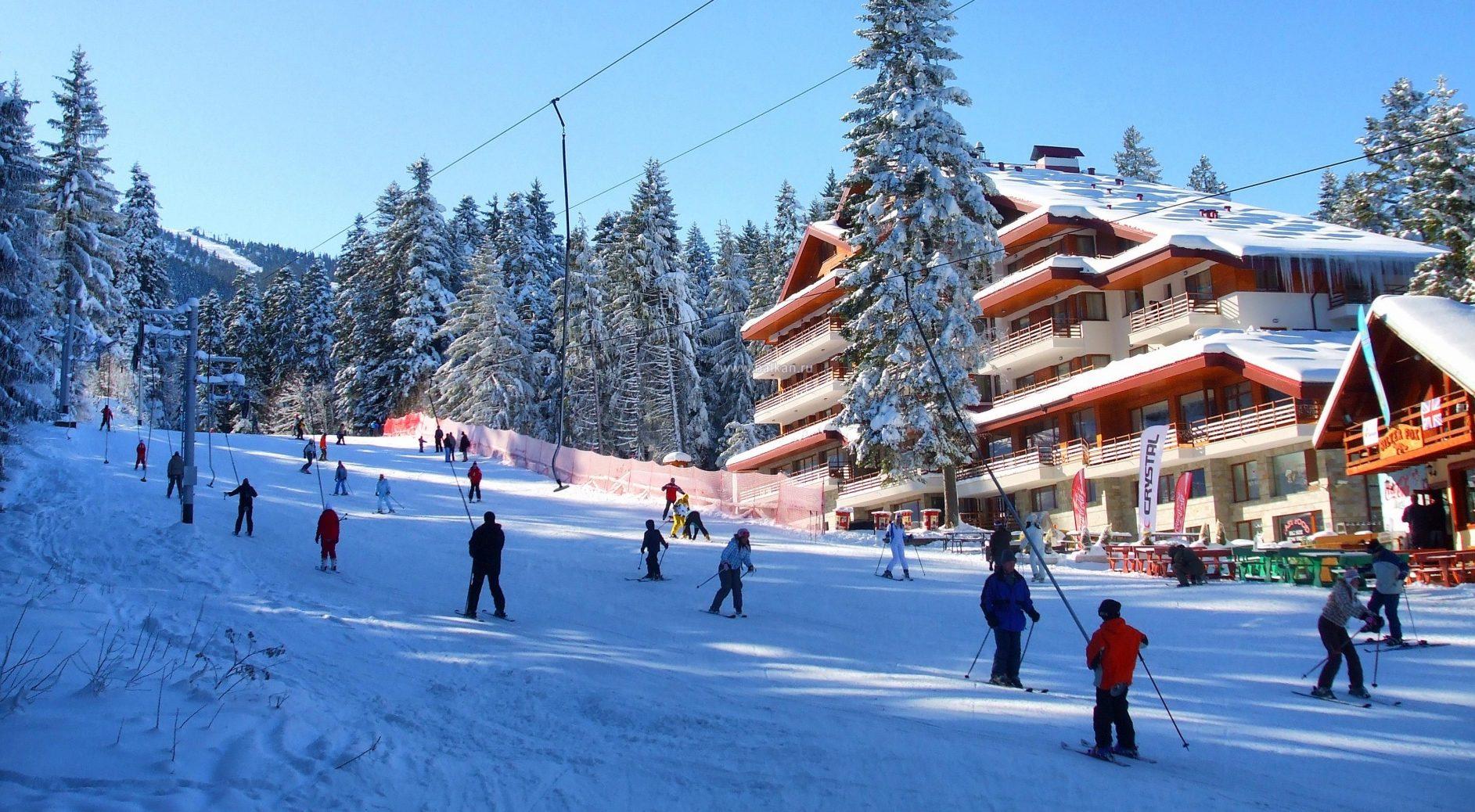 Боровец - старейший горнолыжный курорт в Болгарии.