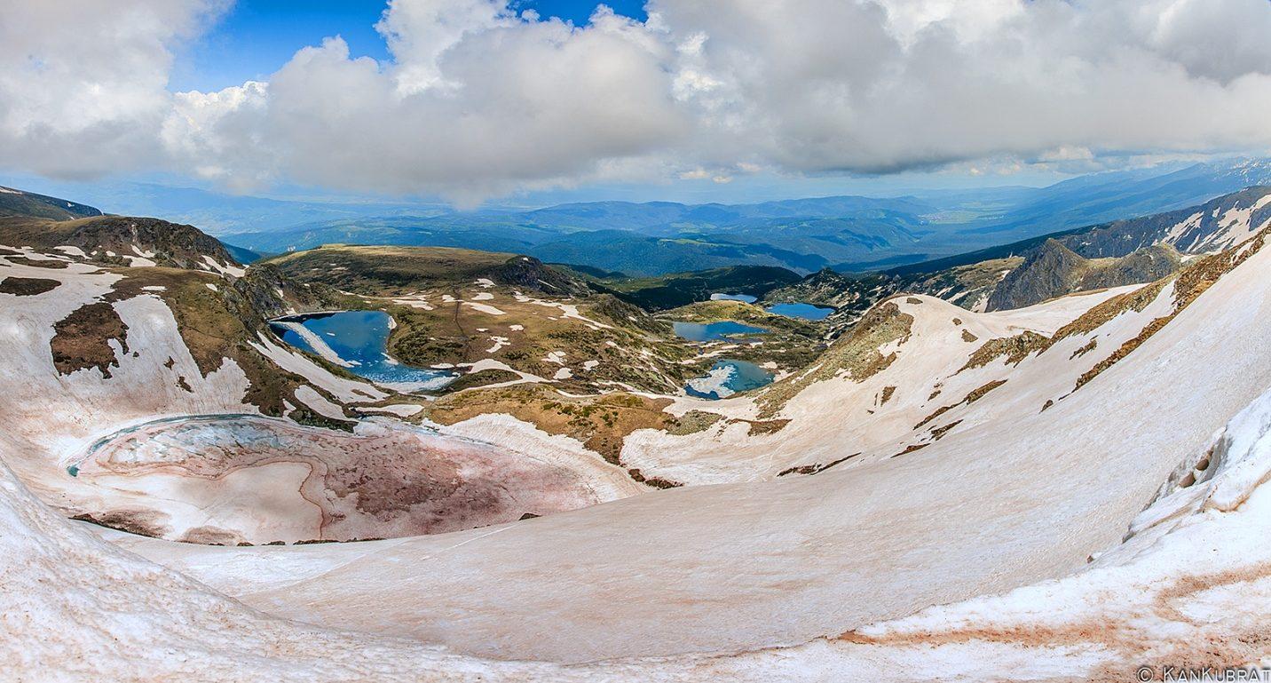 Паничиште - место где можно впервые встать на лыжи как детям, так и взрослым.