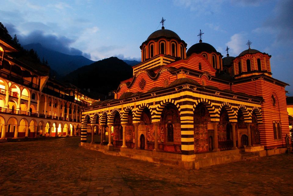 Рильский монастырь.