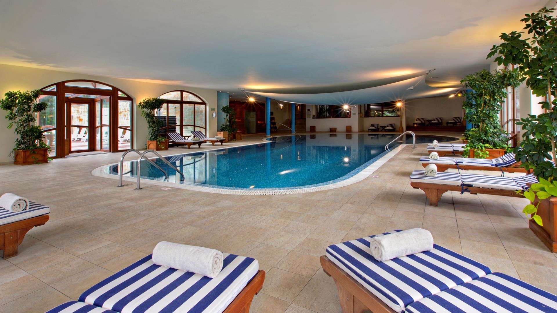 Спа зона в отеле Kempinski Hotel Grand