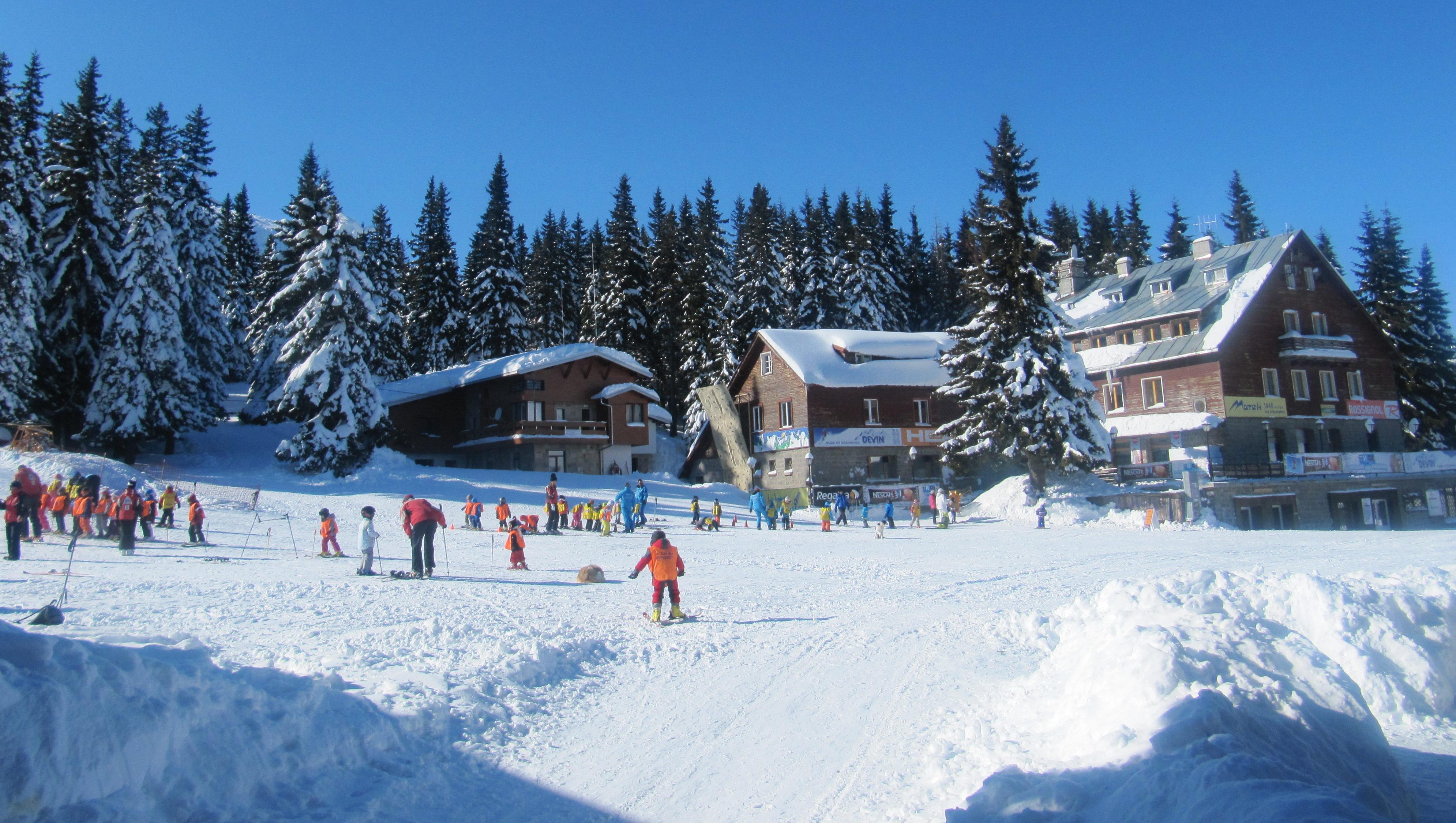 Самый высокогорный курорт Болгарии - Витоша.