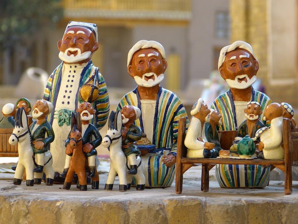 Керамика. Узбекистан.