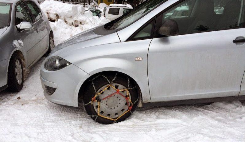 Автомобиль зимой.