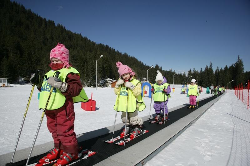Болгария, Банско, детсткая лыжная школа Ulen Bansko.