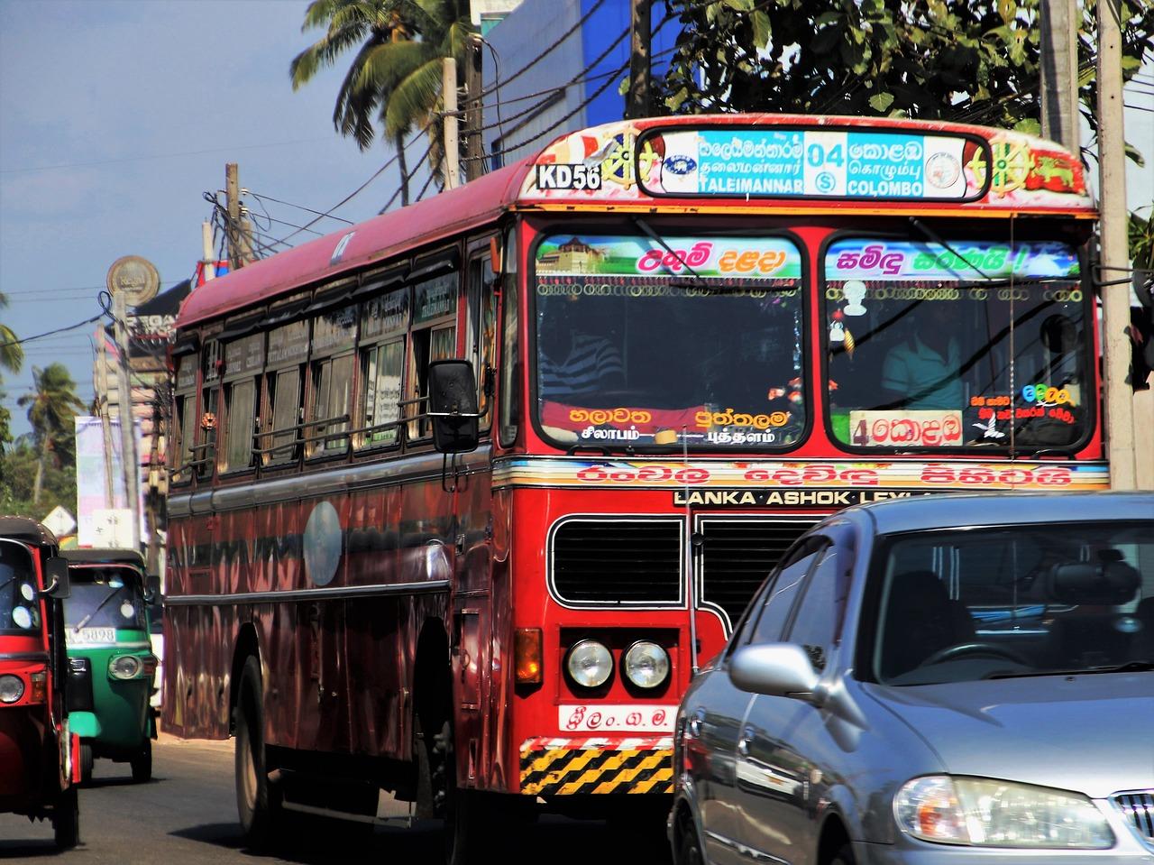 Автобус. Шри-Ланка