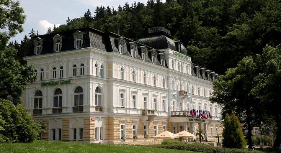 Отель Centrlni Lazne