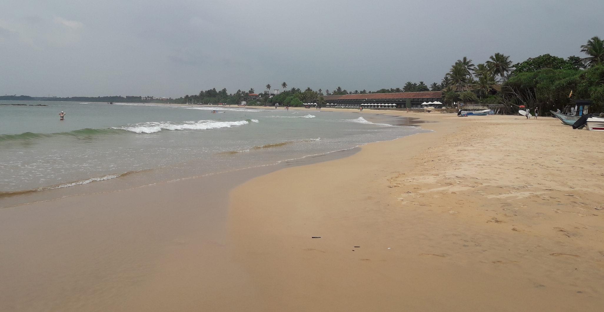Пляж Бентота.