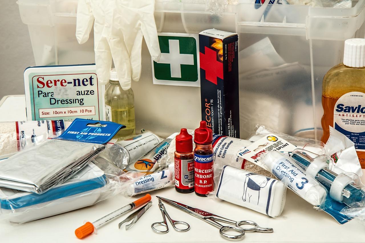 Лекарства первой помощи