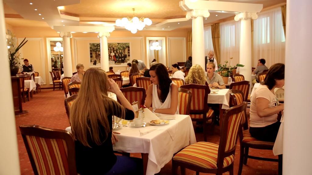 Ресторан отеля Centrlni Lazne