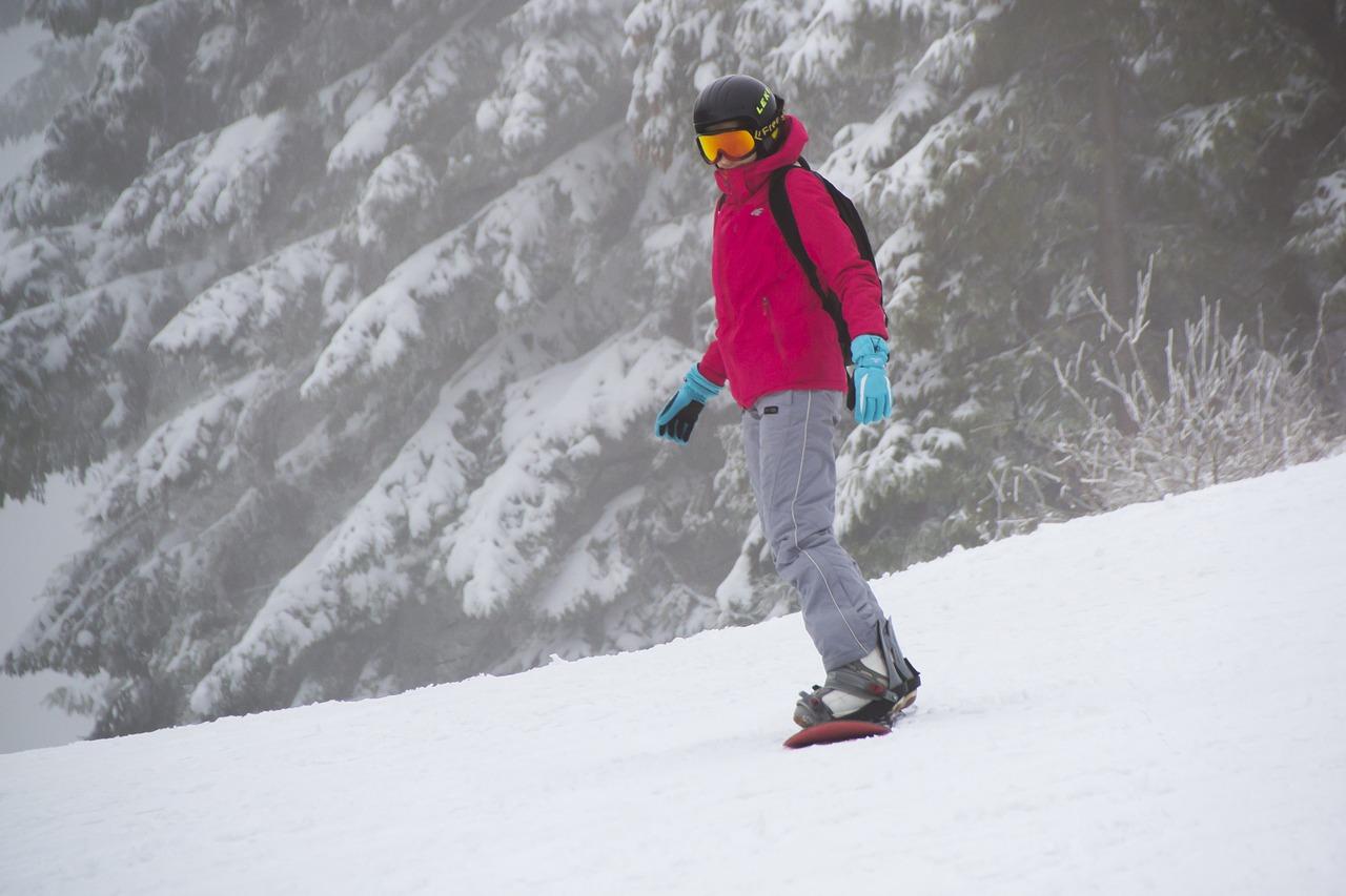 Экипировка сноубордиста.
