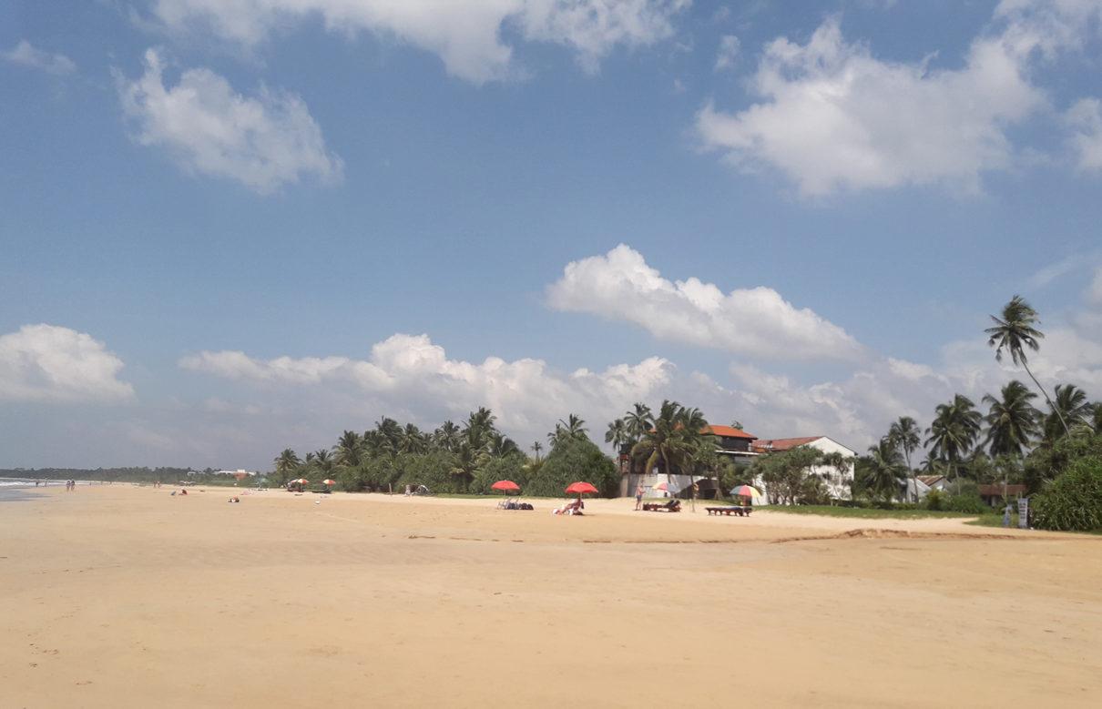 Пляж в Бентоте.