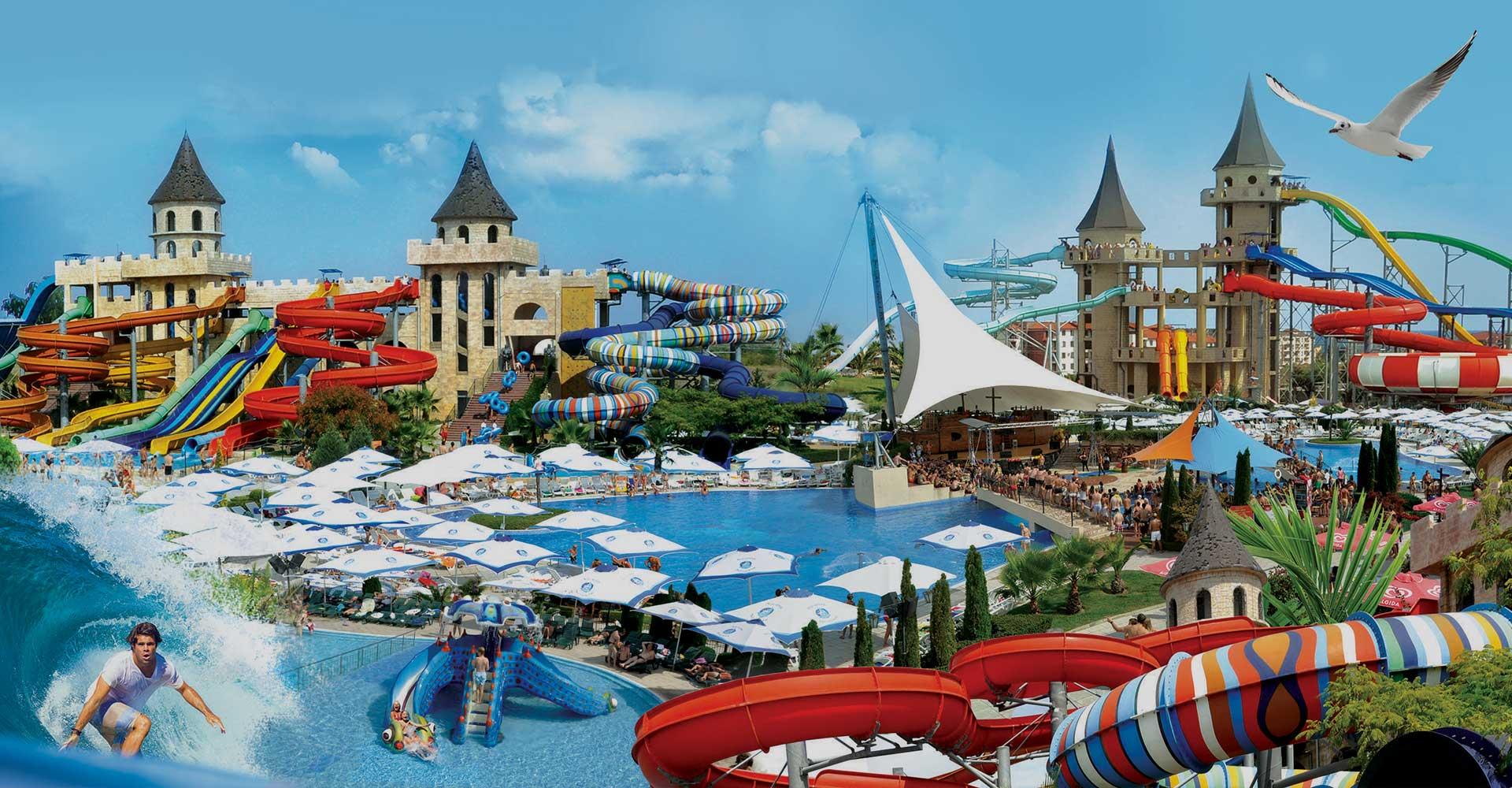 Аква Парадайз (Aqua Paradise) считается одним из лучших аквапарков Болгарии.