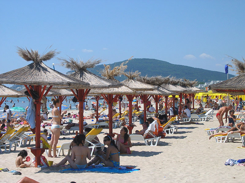 Пляж Албена