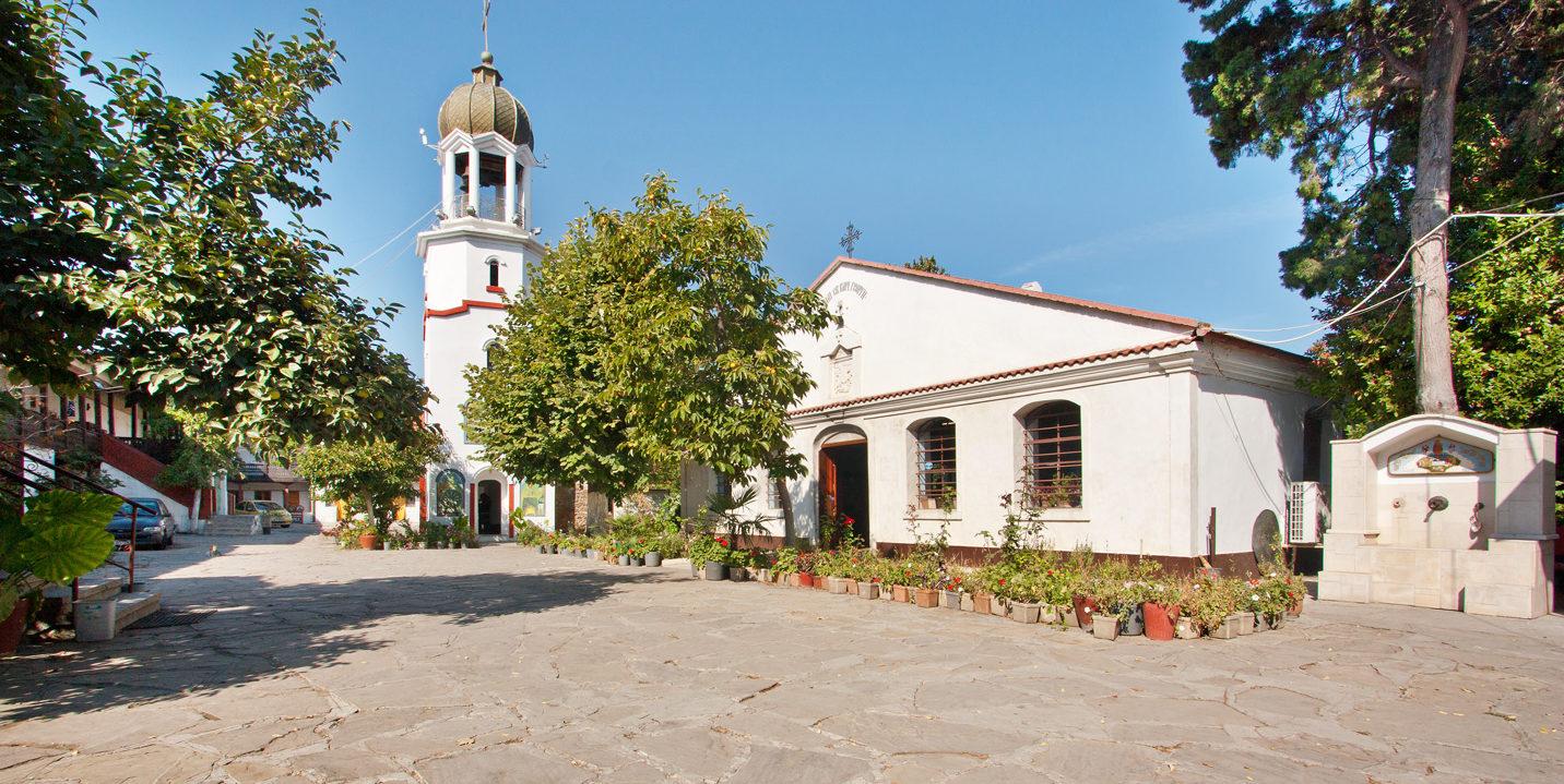 Монастырь святого Георгия в Поморие.