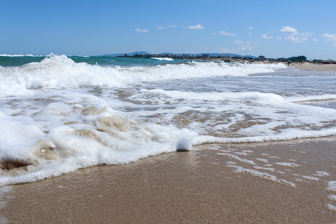 Пляж Болгарской Ривьеры