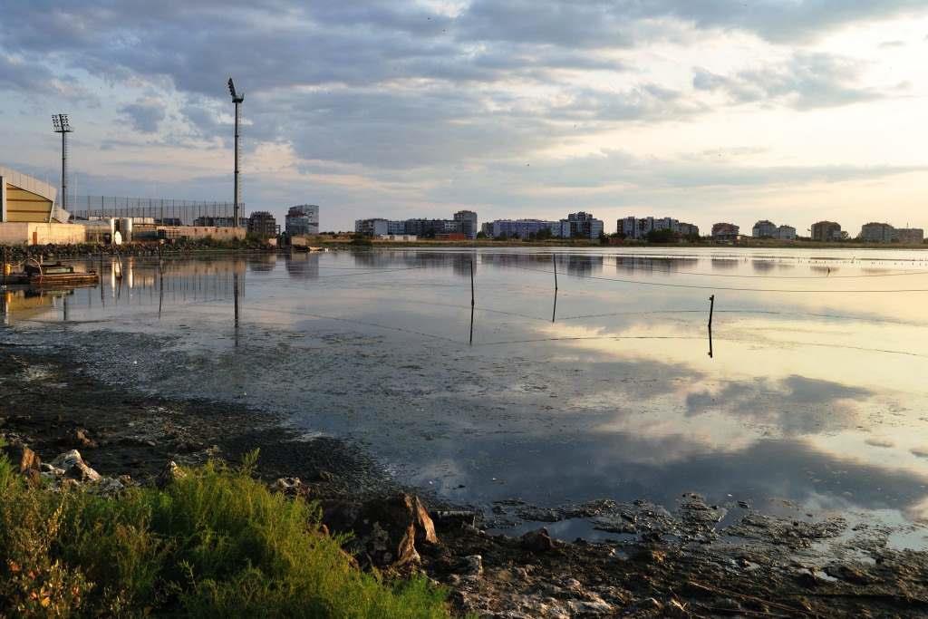 Озеро в Поморие
