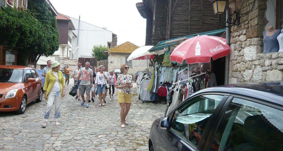Улица в Несебре