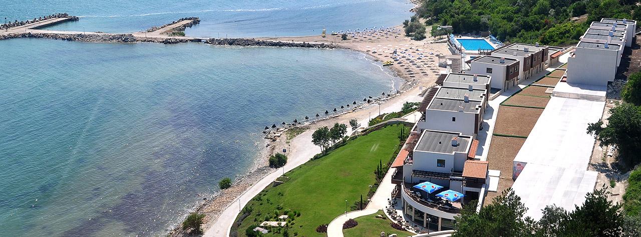 Пляж «Белая лагуна» в Каварне