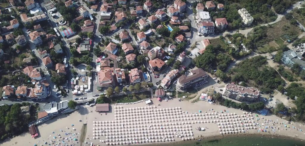 пляж черноморец