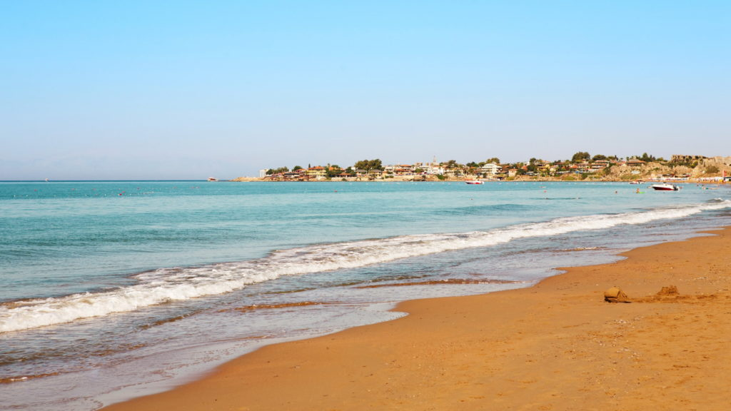 Сиде пляж