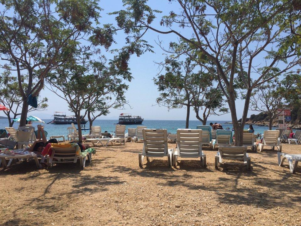 Cennet Akvaryum пляж