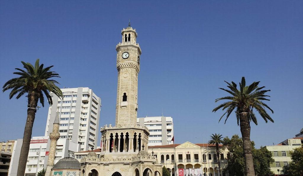 Часовая башня Измир