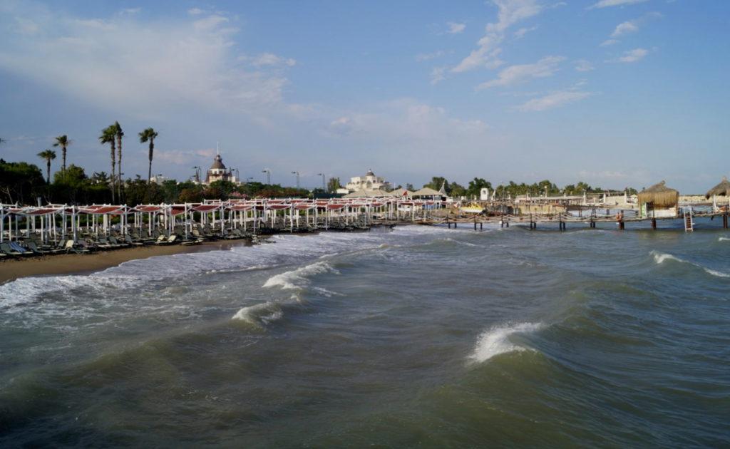 Анталия пляж Лара